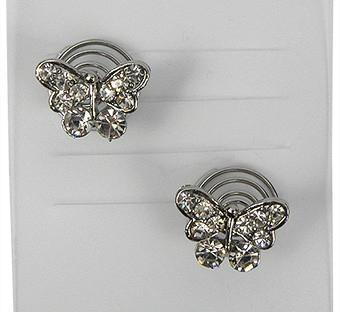 Curlies strass vlinder