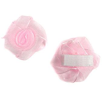 Haarspeldje baby roos roze
