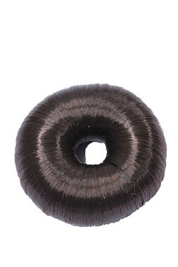 Haardonut donkerbruin 6,5cm