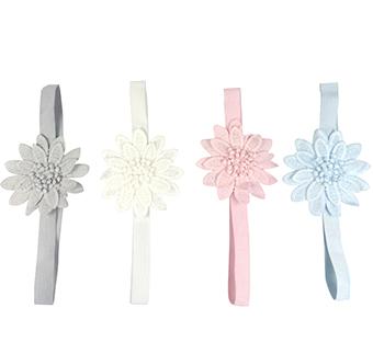 Haarband bloem color pastel