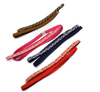 Haarband elastiek bloem