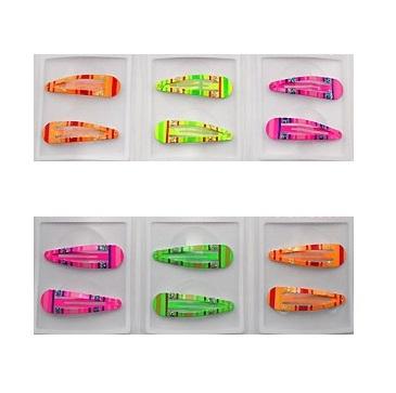 Klikklak streep glitter neon