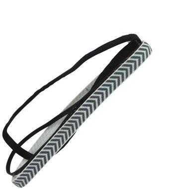 Haarband workout zwart wit