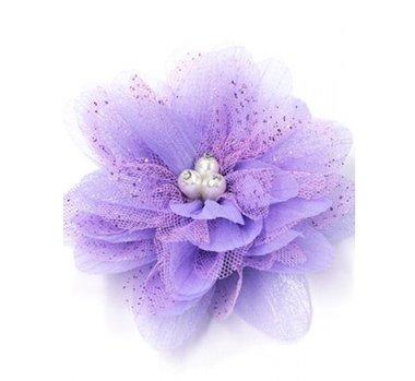 Haarbloem paars