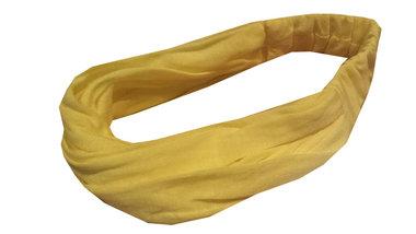 Bandana haarband kind geel