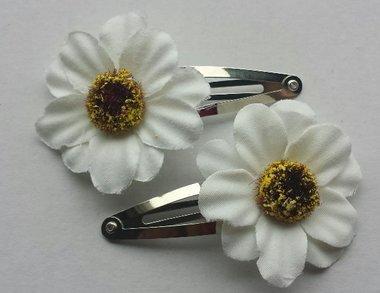 Klikklak bloem wit