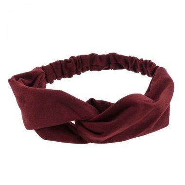Haarband twist rood