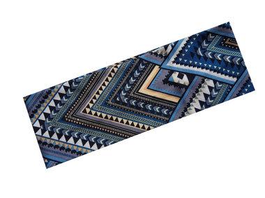Haarband Ibiza Aztec print blauw