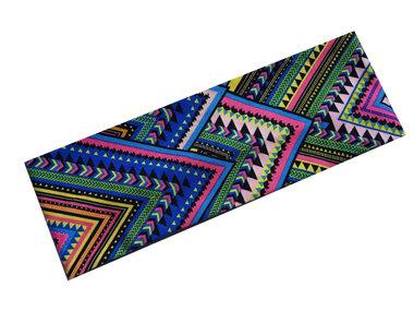 Haarband Ibiza Aztec print fel blauw