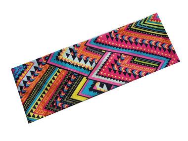 Haarband Ibiza Aztec print fel roze