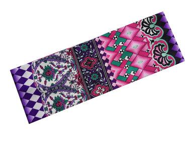 Haarband Ibiza print paars
