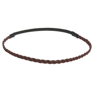 Haarband gevlochten bruin