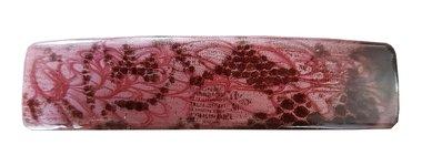 Haarspeld naturel roze