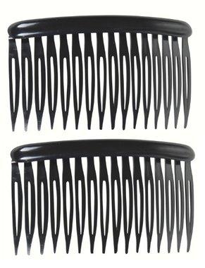 Haarkammen recht zwart