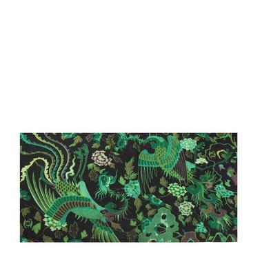 Haarband multifunctioneel botanisch groen