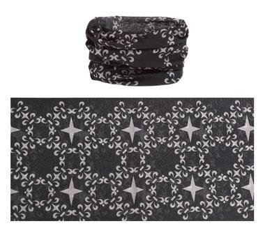 Haarband multifunctioneel ster zwart