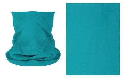 Haarband multifunctioneel groen blauw