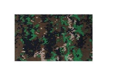 Haarband Multifunctioneel Camouflage Print Groen