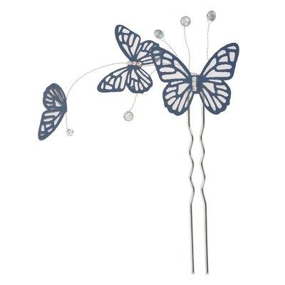 Haarpin vlinder blauw