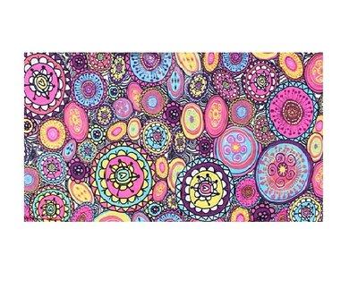 Haarband Multifunctioneel Cirkel Print Color