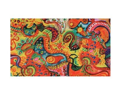 Haarband Multifunctioneel Fantasie Print Color