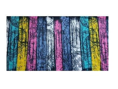 Haarband Multifunctioneel Streep Print Color