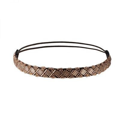 Haarband Kraaltjes Metallic Koper
