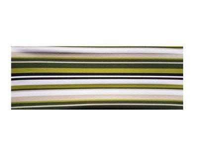 Haarband Streep Print Multi Groen