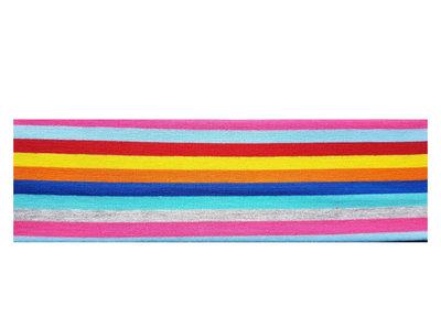 Haarband Streep Print Multi Color
