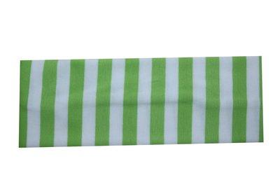 Haarband Streep Wit Groen