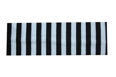 Haarband Streep Wit Zwart