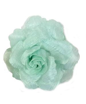 Haarbloem roos groen
