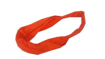 Bandana haarband basic oranje