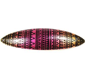 Haarspeld Ibiza print roze