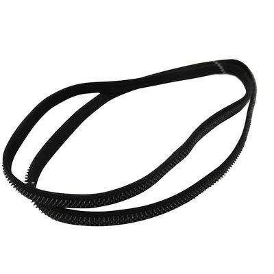Haarband elastiek anti-slip zwart