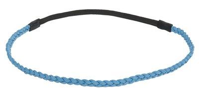 Haarband Basic Gevlochten Blauw