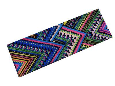 Haarband Ibiza Aztec Print Color Blauw