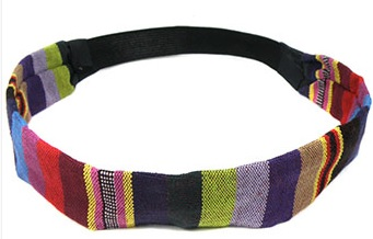 Haarband multi color rood