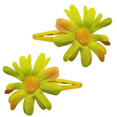 Klikklak zonnebloem lime groen