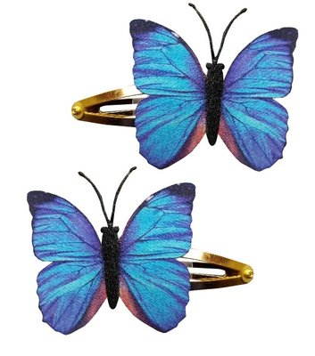 Klikklak vlinder blauw