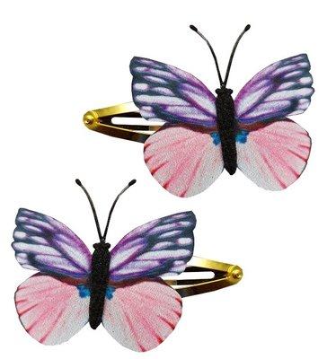 Klikklak vlinder roze paars