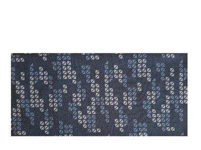 Haarband multifunctioneel blok print zwart