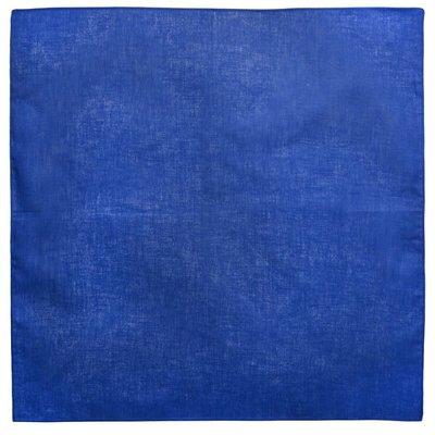 Bandana zakdoek uni blauw
