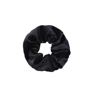 Scrunchie haarelastiek velvet zwart