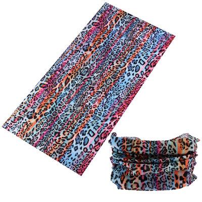 Haarband multifunctioneel panter print color