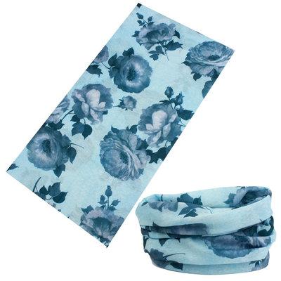 Haarband multifunctioneel rozen blauw