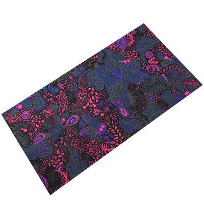 Haarband multifunctioneel fantasie blauw roze