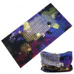 Haarband multifunctioneel orient paars