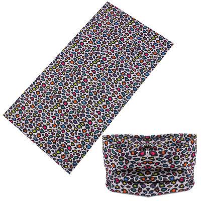 Haarband multifunctioneel panter color