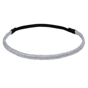 haarband-glitter-zilver-gevlochten